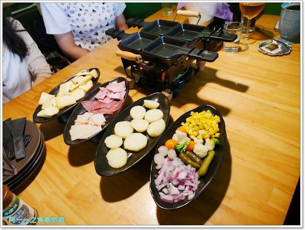板橋新補站美食 法式薄餅小酒館 Le Puzzle Creperie & Bar~特色鐵板起司鍋,巷弄異國風味