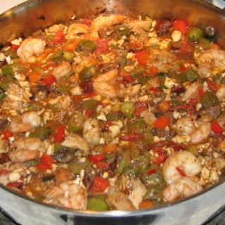 Paleo Jambalaya with Cauliflower Rice