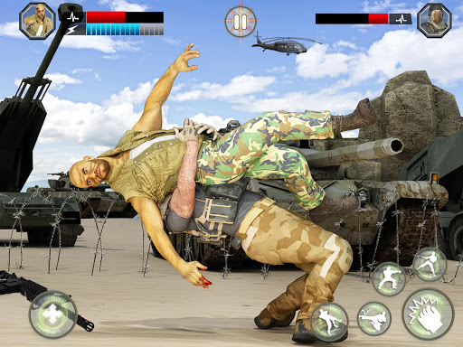 Army Battlefield Fighting: Kung Fu Karate apkpoly screenshots 15