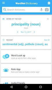 Advanced English Dictionary & Thesaurus Screenshot