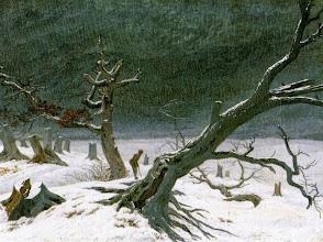 """Photo: Caspar David Friedrich, """"Paesaggio invernale"""" (1811)"""