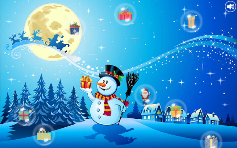 android Christmas Bubbles for Kids Screenshot 2