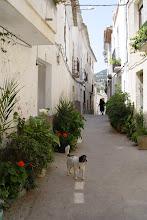 Photo: street in Sella - Alicante - Spain