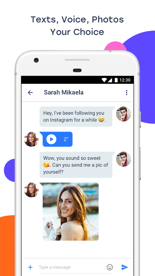 InMessage - Chat, meet, dating- screenshot
