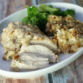 Crock Pot Swiss Chicken Casserole.