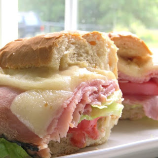 Hot Ham and Cheese Sandwiches