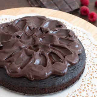 Crazy Cake with Chocolate Ganache