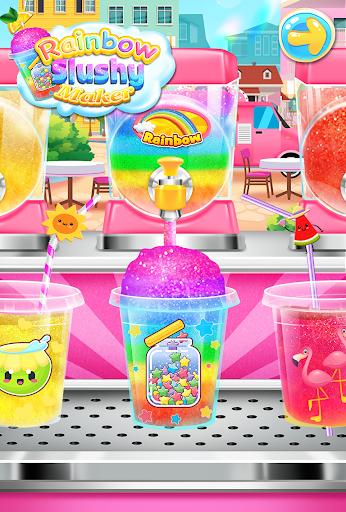 Rainbow Frozen Slushy Truck: Ice Candy Slush Maker 1.8 screenshots 2
