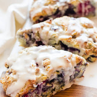 Mixed Berry Scones.