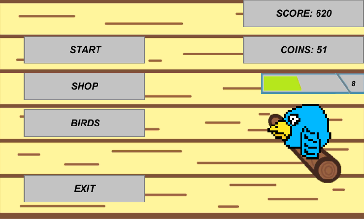 android PocketBirds Screenshot 1
