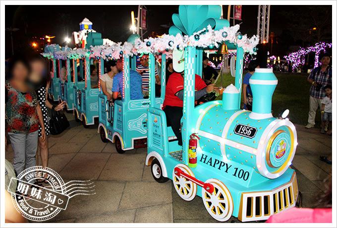 2016夢時代愛Sharing聖誕節小火車