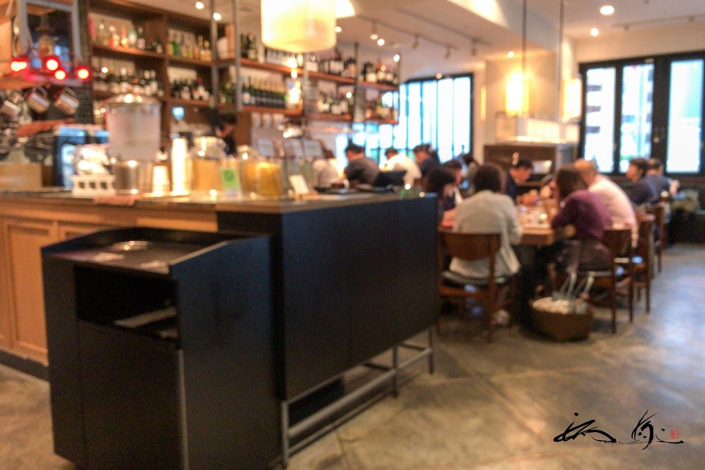 Restaurant & Bar コーナー