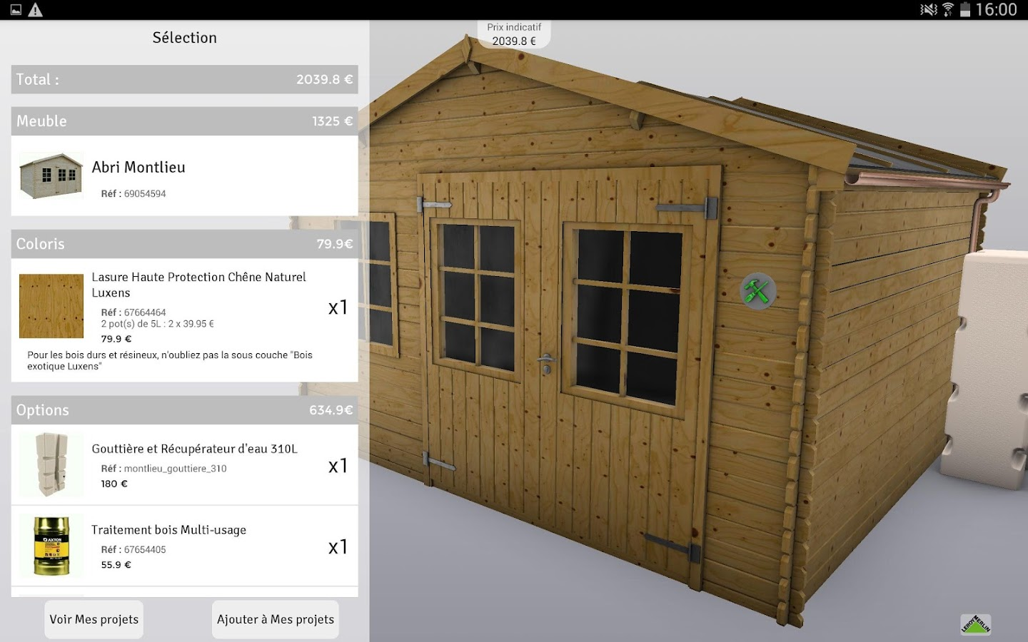 My 3d Shed By Leroy Merlin Android Apps On Google Play