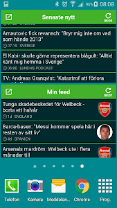 Fotbollskanalen screenshot 5