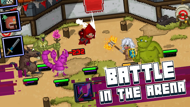 Bit Heroes apk screenshot