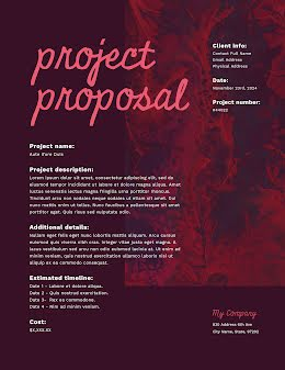 Abstract Project - Project Proposal item