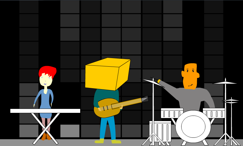 Roboband- screenshot