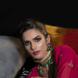 Pakistani Bride by Murray howard-Brooks - People Portraits of Women