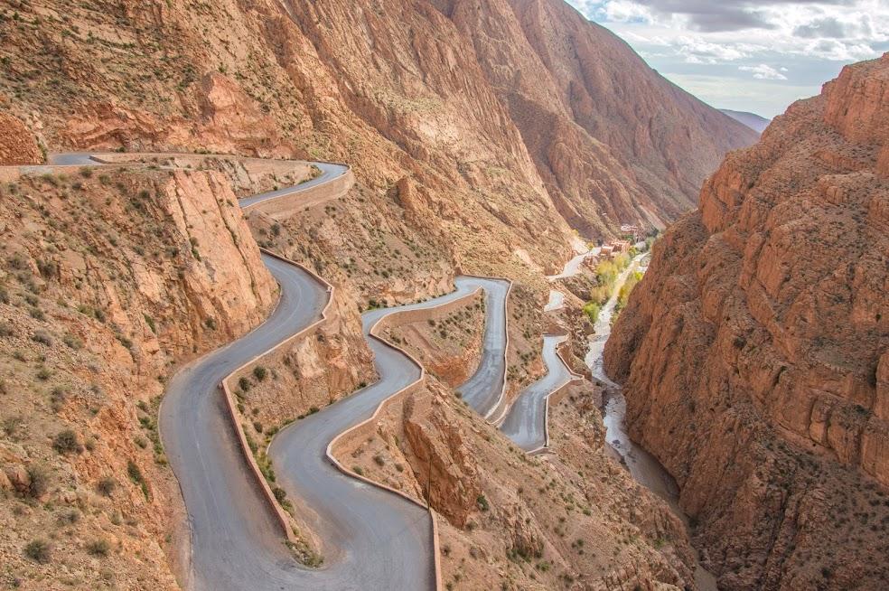 todra gorge marokko