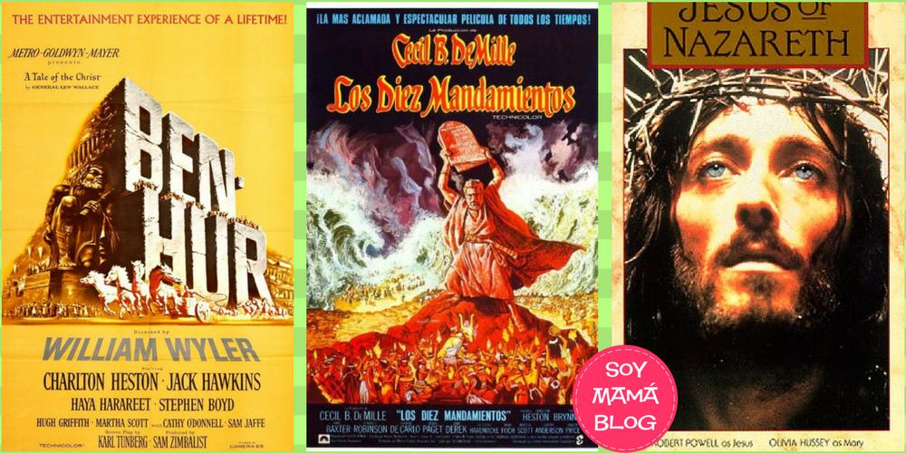 Tres películas para Semana Santa