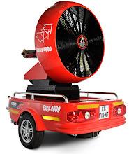 Photo: Velkokapacitní ventilátor Easy 4000 - přívěs - boční pohled