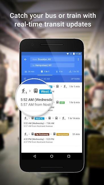 #2. Maps - Navigation & Transit (Android)
