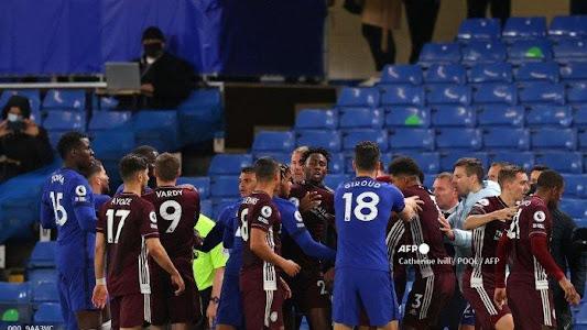 HASIL LIGA INGGRIS - Insiden Baku Hantam Nyaris Warnai Kemenangan Chelsea atas Leicester City - Tribunnews.com