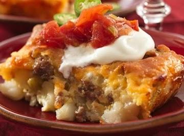 Overnight Tex-mex Egg Bake Recipe