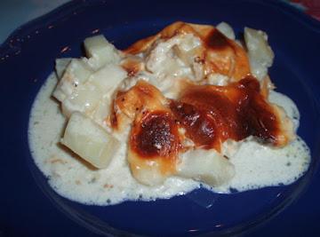 Baked Creamed Potatoes Recipe