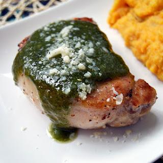 Pesto Pork Chops