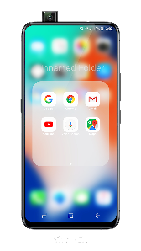 Launcher iOS 12 screenshots