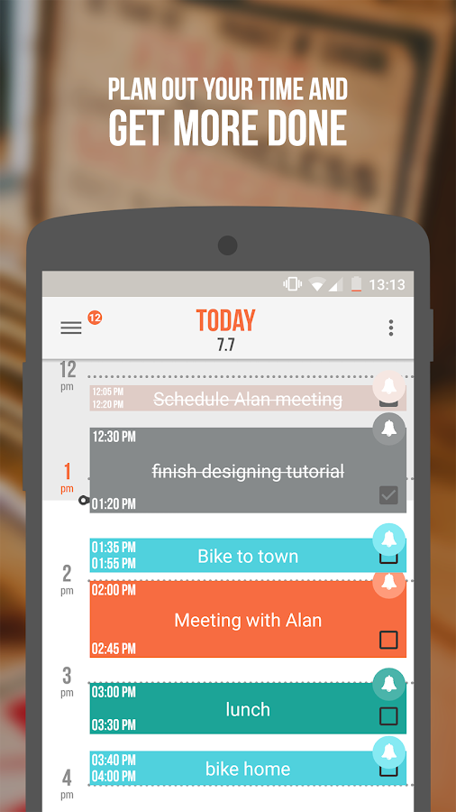 Accomplish: To-Do list reborn- screenshot