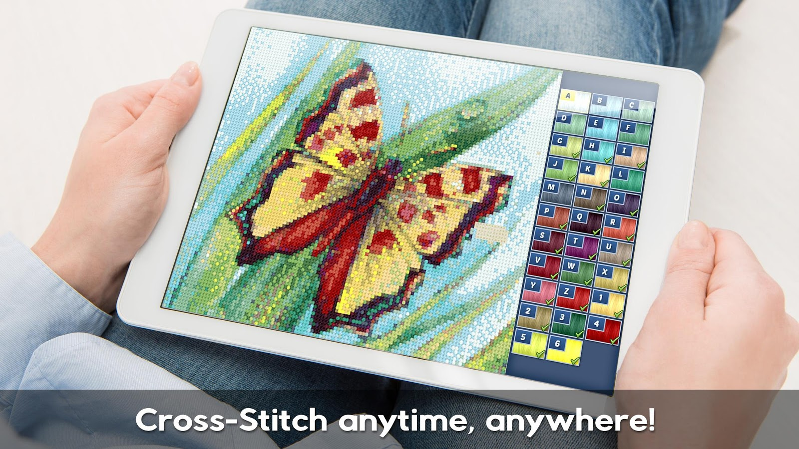 Cross-Stitch World- screenshot