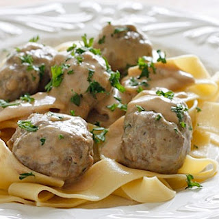 ALTON BROWN'S SWEDISH MEATBALLS [RECIPE]