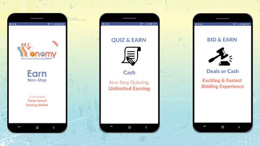 Yonomy- Play Quiz or BID Real Cash, Deals, Rewards 2.8.1 screenshots 1