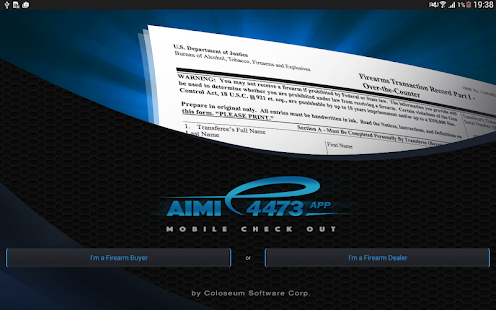 AIMI e4473 Firearms App Tablet- screenshot thumbnail