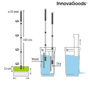 Sistem de curatare Swiftmop Ultra, mop pliabil cu galeata