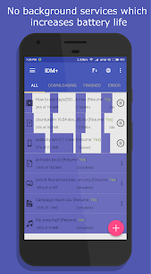 IDM+ Fastest download manager 5.0 [Pro Unlocked] Cracked Apk 4