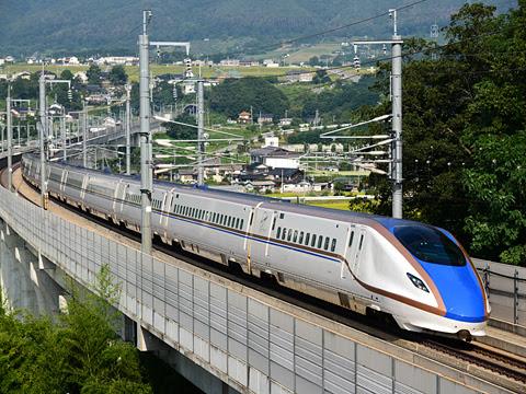 JR北陸新幹線 E7系「はくたか577号」