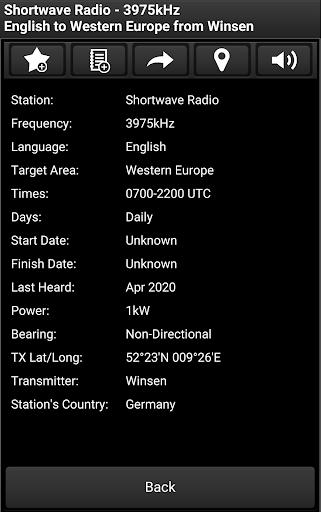 Skywave Schedules screenshot 4