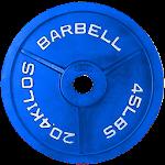 Barbell Calculator Icon