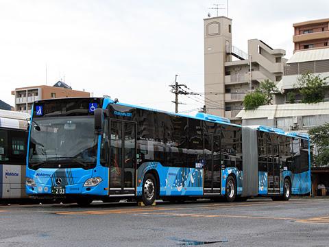 西鉄バス北九州 0203 連節バス
