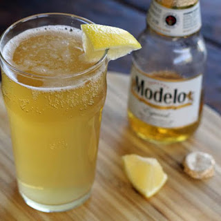 Tequila Shandy Beer Cocktail.
