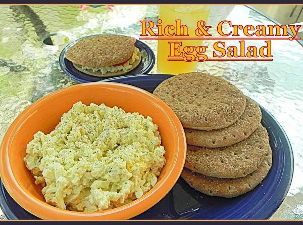 Rich And Creamy Egg Salad Recipe