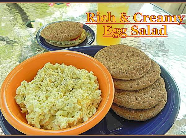 Rich And Creamy Egg Salad Recipe