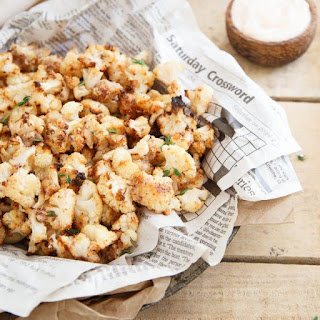 Salt and Vinegar Popcorn Cauliflower Recipe