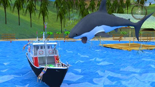Hungry Shark Attack - Wild Shark Games 2019 screenshot 5