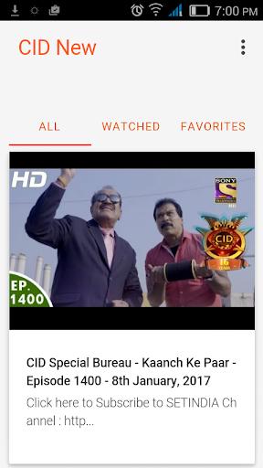 Cid drama download mobile