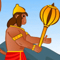 Hanuman the ultimate game icon