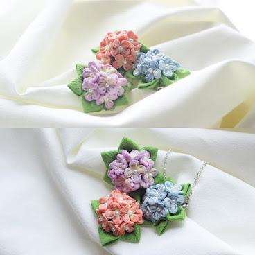 紫陽花。繡球花